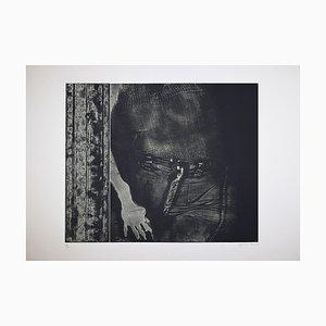 George Segal - Girl In Doorway - Etching - 1976