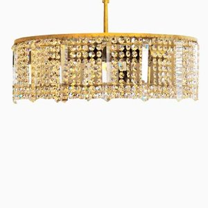 Austrian Cut Crystal Chandelier from Bakalowits & Söhne