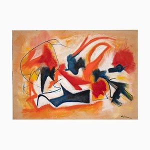 Giorgio Lo Fermo - Informal III - Oil Paint On Canvas - 2020