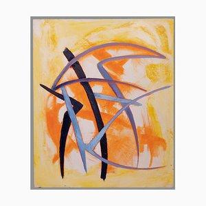 Giorgio Lo Fermo - Orange and Violet - Oil Paint - 2020