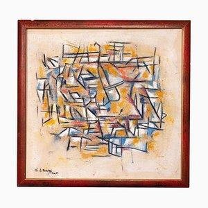 Giorgio Lo Fermo - Descrip - Abstract Expression - Oil Painting - 2015
