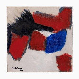 Giorgio Lo Fermo - Französische Flagge - Original Ölfarbe - 2013