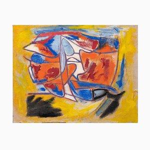 Giorgio Lo Fermo - Abstrakte Komposition - Original Ölfarbe - 2018