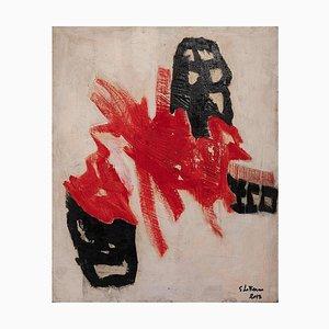 Giorgio Lo Fermo - Rote Form - Original Ölfarbe - 2013