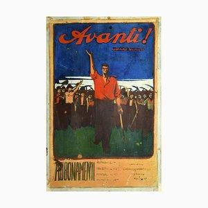 Gabriele Galantara - Forward - Original Mixed Media - Early 20th Century