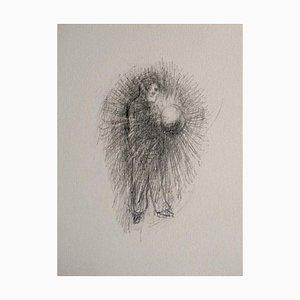 Andrea Fogli - Vorhut der Prähistorischen - Original Bleistift auf Papier - 2007