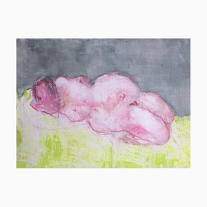 Caterina Pini - Nude Iii - Original Mixed Media On Paper - 2015