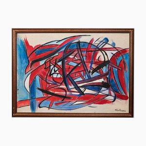 Giorgio Lo Fermo - Abstract Expression - Original Oil and Oil Pastel - 2019