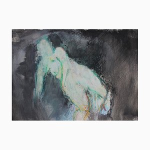 Caterina Pini - Nude - Mixed Media On Paper - 2015