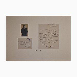 Alfredo Casella - Autograph Buchstabe - 1934
