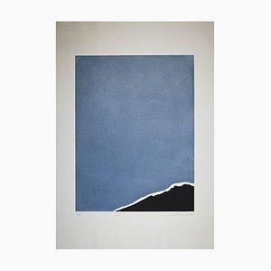 Giuseppe Santomaso - White Intrusion - Original Radierung - 1970er