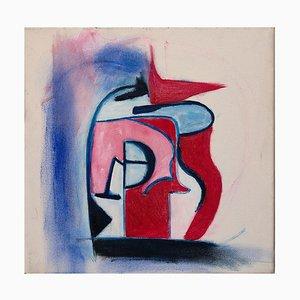 Giorgio Lo Fermo - Pink and Fuxsia Composition - Oil - 2019