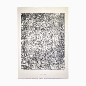 Lithographie Originale de Jean Dubuffet - The Wall of Sol - 1959