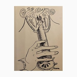 Man Ray - En Voi - Original Lithograph - 1964