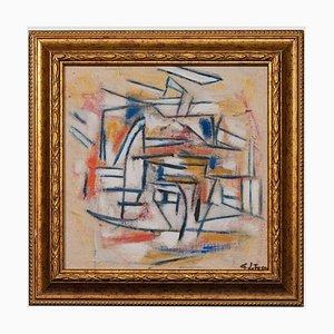 Giorgio Lo Fermo - Blue Lines - Oil Painting - 2019