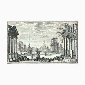 Ferdinando Galli Bibiena - Cityscape - Etching - 18th-Century