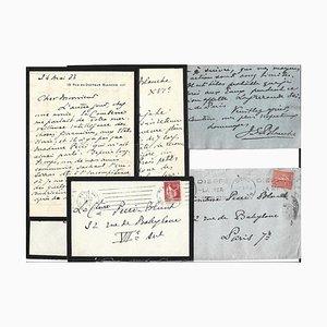 Jacques-emile Blanche - Autographs - 1930s