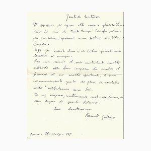 Renato Guttuso - Pair of Autograph Letters - 1938