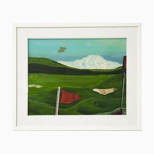 Mirtilla Durante - Golf Course - Oil On Canvas - 2020