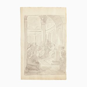 Unknown - The Life of Christ - Watercolor and Pencil - Mid-20th-Century