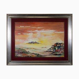 Oscar Tirelli - Country Dolce No. 2 - Oil and Acrylic - 1987