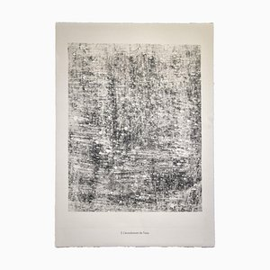 Jean Dubuffet, The Flow of Water, Lithograph, 1959