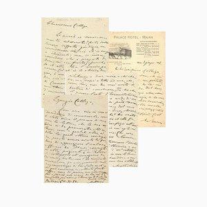 Augusto Murri - Correspondence - 1917
