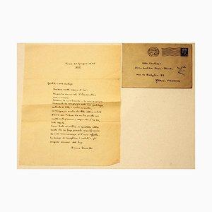 Bruno Barilli - Letter to the Countess Pecci Blunt - 1935