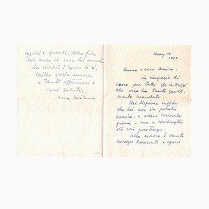 Milena Barilli, Letters by Milena Barilli to the Countess Pecci Blunt, 1943/1937