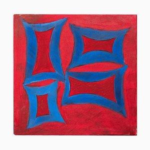 Giorgio Lo Fermo, Red Minimalism, Oil Paint, 2020