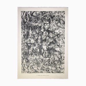 Jean Dubuffet, Theater of Wicks and Tears, Lithograph, 1959