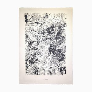 Lithographie, Jean Dubuffet, 1959