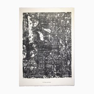 Jean Dubuffet, Pierrense Creek, Lithographie, 1959