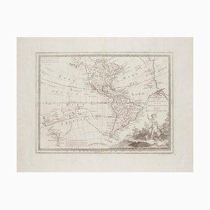 Unknown - The Americas - Vintage Landkarte - 18. Jahrhundert