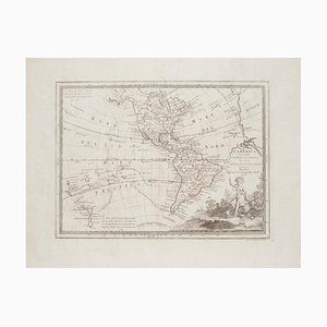 Unknown - The Americas - Vintage Map - 18th century