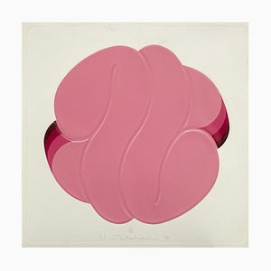 Shu Takahashi, Pink Ball, Mischtechnik, 1973