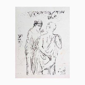 Pierre Bonnard, Walk, Lithograph, 1930