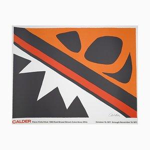 Alexander Calder - Vintage Ausstellung Pace / Columbus Poster - 1971
