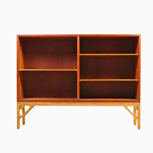 Danish Teak Bookcase by Børge Mogensen for FDB, 1960s
