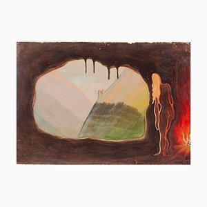 Jean-Raymond Delpech, Mental Rainbow, Mischtechnik, 1940