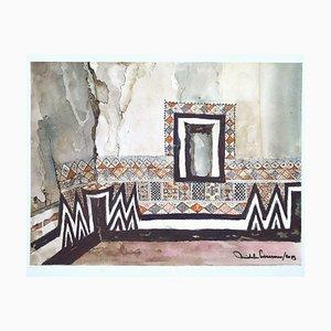 Michele Cascarano, Morocco, Watercolor, 2015