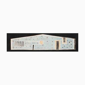 Inconnu - Architectural - Aquarelle Originale sur Carton - Début 20ème Siècle