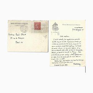 Paul Valéry, Autograph Letter, 1929