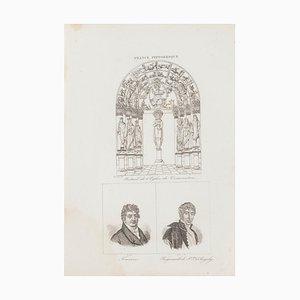 Unknown, Christian Art and Portraits, Lithografie, 19. Jahrhundert