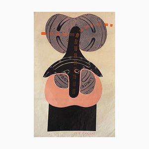 Litografia di A. Knopp, The Bird, 2008