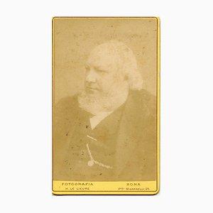 Honoré Daumier - Unveröffentlichtes Portrait - Vintage Photo - 1870er