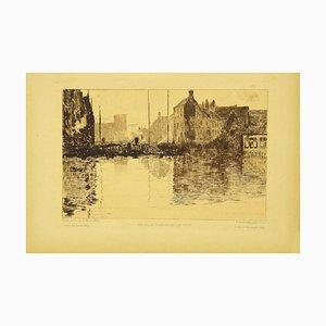 Lithographie, Albert Baertsoen, 1892