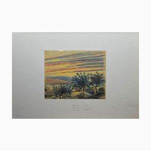 Helen Vogt, Morocco, Pastel Drawing, 1944