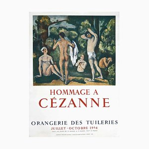 Edgar Degas - Hommage a Cèzanne - Vintage Offset Poster - 1954