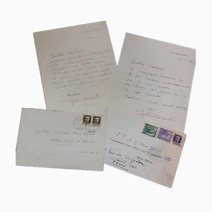 Felice Casorati, Autograph Letters, 1938